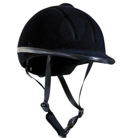 Equestrian riding helmet