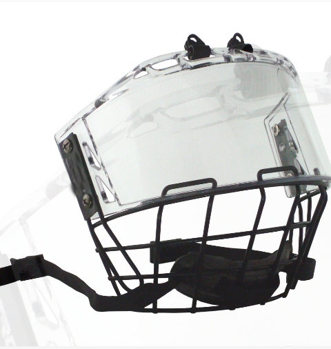 S60 hockey visor
