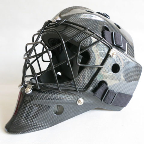 carbon goalie mask